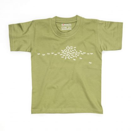 Ameise T-Shirt Kind Buben Mädchen Jungen grün Fair Wear