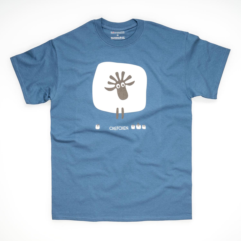Tirol Design Schaf blau Herren T-Shirt Chefchen Geschenk für Liebsten