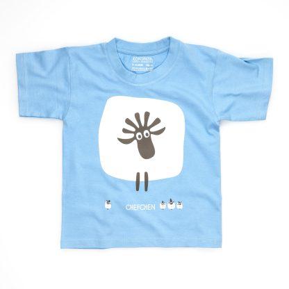 Schaf T-Shirt Kind Buben Chefchen Mädchen Chefin Jungen Chef gelb blau