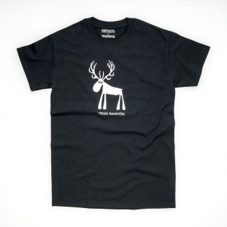 Tirol Design Hirsch schwarz Tiroler Prachtstück Herren T-Shirt Geschenk Herr