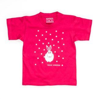 Hase T-Shirt Kind Mädchen pink Kinder Größen Tiroler Schneehase Geschenk