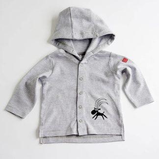 Steinbock Baby Jacke Alpensteinbock Bio Baumwolle Tiermotiv Tirol Design