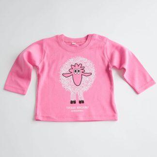 Baby T-Shirt Schaf Tiroler Bergschaf Geschenk für Neugeborenes 100% Tirol Design