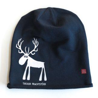 Mütze Kappe Beanie Tirol Hirsch