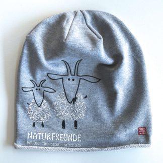 Mütze Kappe Beanie Ziegen Naturfreund Berge